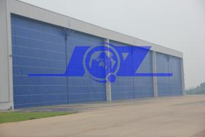 China China super large flexible accumulation hangar door on sale