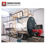 Package Type Industrial Fire Tube Riello Burner Gas Steam Boiler 2000kg