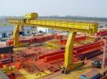 YUANTAI construction machinary from china single girder gantry crane