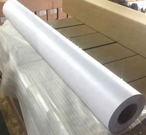 China Air Bubble Free Printable Adhesive Vinyl Sheets , Pure White Pvc Adhesive Film on sale