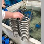 Air Cooler Condenser 50 M3 / H Titanium Coil For Aquarium