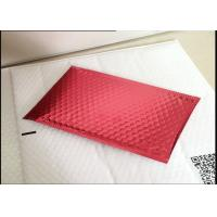 Biodegradable Red Anti Static Bubble Bags For Toy 115x210mm #B VMPET Material