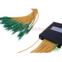 ABS Box Type PLC Fiber Optic Splitter 1x4 1x8 1x16 1x32 for CATV Network / FTTH