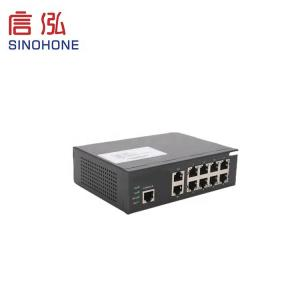 China Custom 100Mbps Fiber Optic Network Switch Simple Operation 53G Exchange Capacity on sale
