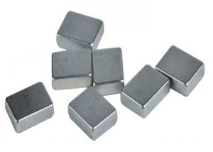 China M40/M42/M48 Strong Block Neodymium Magnetswith Colorful Zinc Coating, Electrical Motor Parts on sale