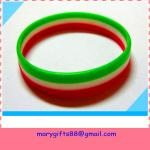 three lines silicone wristband