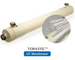 China Tubular Ultra Filter Membrane 0.1 Micron Pore Size PTFE+ PVDF Material on sale