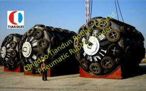 China Pneumatic Foam Filled Fenders , Air Inflatable Boat Fenders on sale
