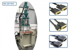 China 2 Columns 20 Ton DVI Cable Moulding Machine HM-20T-PDV For Video Cable on sale
