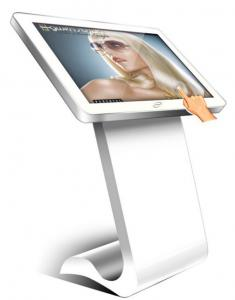 China 40 Inch Touch Screen Floor Standing LCD Advertising Player Digital Signage Kiosk on sale