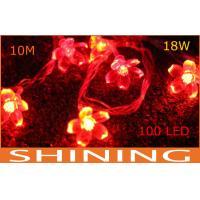 China Indoor 220V / 110V ROHS Red LED Decorative String Light 50000h Long Life on sale