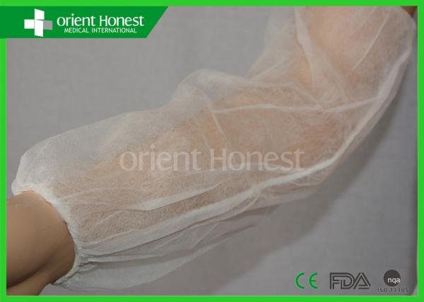 f7b143cb22 Protective PP Non Woven Disposable Plastic Arm Sleeves Covers for ...
