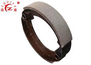 China Steel Material Manual Rear Brake Shoes Block 180mm With Long Life Span on sale