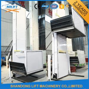 China Electric Vertical Wheelchair Platform Lift with Inching Switch / Automatic Control Mode on sale