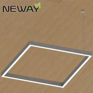 suspended lighting fixtures. Square 400x400 500x500 1000x1000 LED Linear Suspended Pendant Light Fixture Architectural Office Lighting 4000K Fixtures X