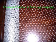 China エア フィルター、30m ロールのために打ち抜かれる電流を通された鋼鉄によって拡大される金属板 on sale