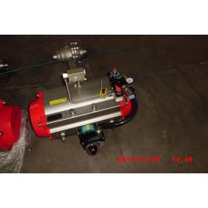 China BW FLG Connection Pneumatic Cryogenic Ball Valve with Stainless Steel Material on sale