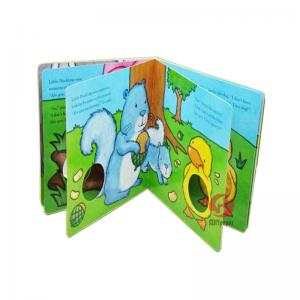 China 400gsm C1S art board Spot UV  Custom paperback, hardcover Childrens Book Printing on sale