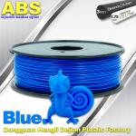 3D Printer Material Strength Blue Filament  , 1.75mm / 3.0mm ABS Filament Consumables