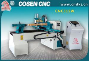 China wood machine from COSEN CNC with model 315W for funitures ,bats, wood crafts on sale