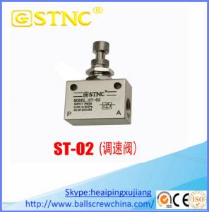 China ST-02 One way throttle valve ST-04/ flow control valve on sale