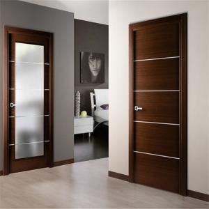 China Front Entrance Wood Composite Door Different Color Plastic Composite Frame on sale