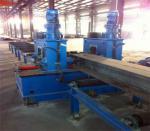H- Beam welding line,H-Beam flange straightening machine