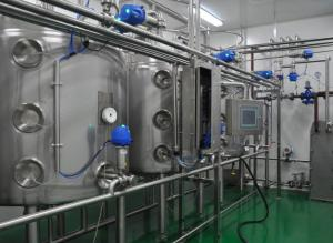 China Split Type Full Automatic CIP Cleaning System 10TPH SUS304 Producttion Line Washer on sale