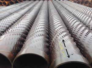China tienda un puente sobre la tubería de acero inoxidable ranurada del filtro para pozos para los pozos profundos on sale