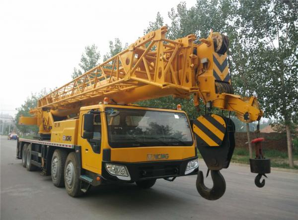 Used XCMG QY-70K TRUCK CRANE FOR SALE CHINA bulldozer-cat.com