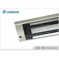 Door Electromagnetic Lock with Anodized aluminum Surface finishing , 12V / 24V Power