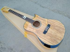 China AAAA custom guitar all solid imported Olive wood Ryans style guitar customize handmade acoustic guitar on sale