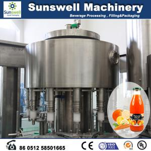 China Stainless Steel Hot Filling Machine Automatic For Orange Juice on sale