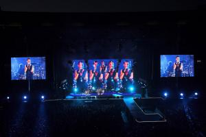 China Super Slim DJ LED Display Rental for Stage Concert , Indoor P4 LED Screen supplier