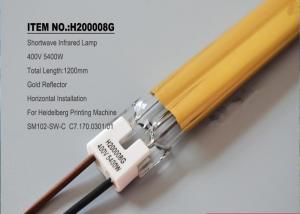 China C7.170.0301 Offset Printing Machine Spare Parts Heidelberg IR Tubes Halogen Quartz Lamp on sale