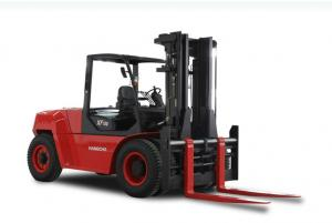 China 8 -10T Industrial Forklift Truck / Internal Combustion Counterbalance Forklift Trucks on sale