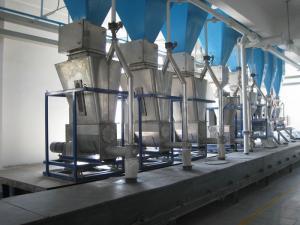China Automatic Detergent Powder Manufacturing Machine / Washing Powder Mixing Machine on sale