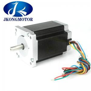 China Hybrid Stepper Motor Nema 24 4N.m ( 566 oz.in ) 4A 4-wire 8mm D Shaft Router supplier