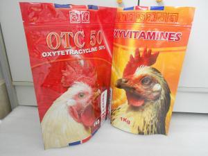 China ECO-Friendly biodegradable Foil Bag Packaging Big k for 1kg Pet Food on sale