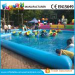 China Customized Inflatable Water Pool / Swimming Pool With Paddle Boat CE Approval wholesale