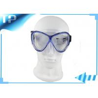 China Professional Scuba Diving Mask Diving Glasses Black Diving Equipment on sale