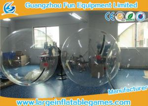 China Transparent Inflatable Walk On Water Bubble Ball For Summer Water Game on sale