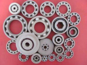 China Plastic Plain Bearings 260℃ Working Temperature Peek Ball Bearings on sale