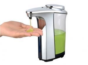 China 500ml Premium Modern Style Elegant Automatic Liquid Soap Dispenser with Chrome on sale