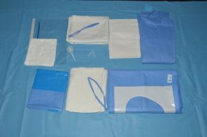 China Safe Clean SMMS Disposable Delivery Kit  For Hospital Operating Room on sale