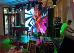Bar equpment Indoor Concerts DJ LED Display Video Wall , DJ Booth LED Display