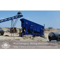 Circular Motion Vibrating Screen Iron Ore Concentration Process