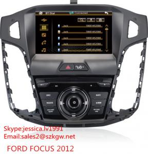 China 8'' 2 DIN TFT LCD Car dvd player Stereo Radio Car GPS for Ford Focus on sale