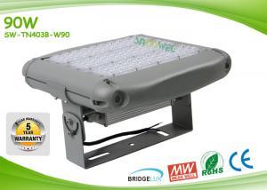China 2700k - 6500k Square 90w Led Flood Light 90 Pcs Bridgelux Outdoor Led Flood Lighting on sale
