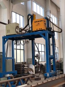 China electric transmission pole automatic gantry welding machine-Pipe making machine on sale